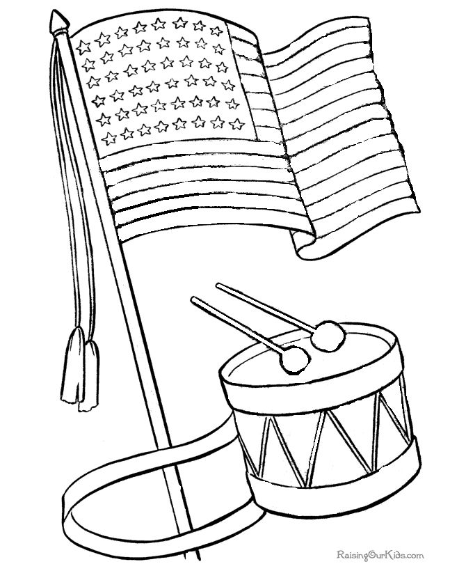 History Coloring Page Printable | Printable American Flag Coloring Pages  Are Fun But They Also Help