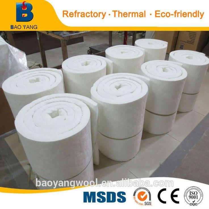 CE Thermal Insulation bio-soluble ceramic fiber blanket