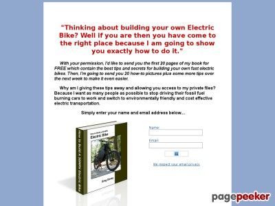 Fast Electric Bike - How to Build a 50MPH Electric Bike - http://www.freecycleusa.com/fast-electric-bike-how-to-build-a-50mph-electric-bike/