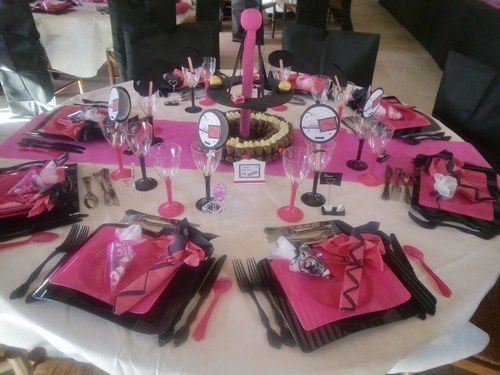 Mariage theme gourmandise tables mariage et album for Decoration theme gourmandise
