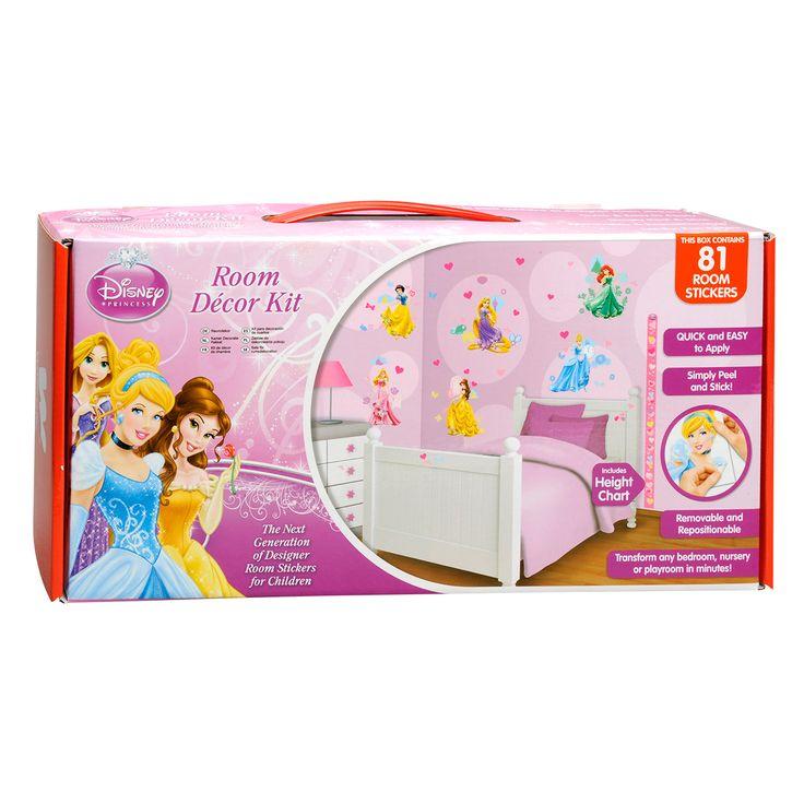 Maak van jouw kamer een Disney prinsessen kamer met deze Walltastic Muurstickers… De stickers kunnen op elk glad oppervlakte worden geplakt als muren, meubels en zelfs ramen: Eenvoudig aan te brengen, te verplaatsen en te verwijderen. Stickerbox met in totaal 81 stickers. Afmeting: 6 vellen van 46 x 34 cm - Walltastic Muurstickers Disney Prinses