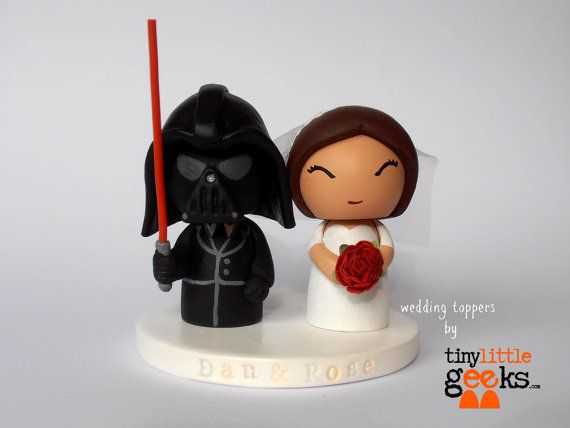 The 25 best star wars cake toppers ideas on pinterest star wars wedding cake topper star wars cake topper darth vader inspired wedding cake topper junglespirit Choice Image