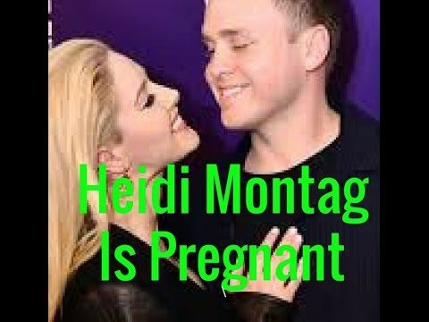 """Heidi Montag Is Pregnant Expecting First Child With Spencer Pratt   Heidi Montag and Spencer Pratt are expecting their first tyke together. Montag 30 and Pratt 33 reported her pregnancy on the front of Us Weekly's Apr. 24 issue. """"Heidi has needed to be a mother since the day I met her"""" says Pratt. """"She has gotten ready for and pondered this."""""""