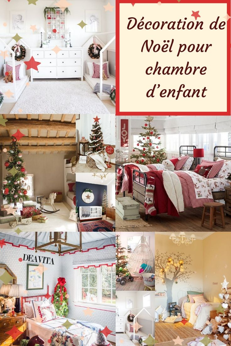 Même Si Les Idées De Décoration De #Noël Pour #chambre Du0027enfant Ne