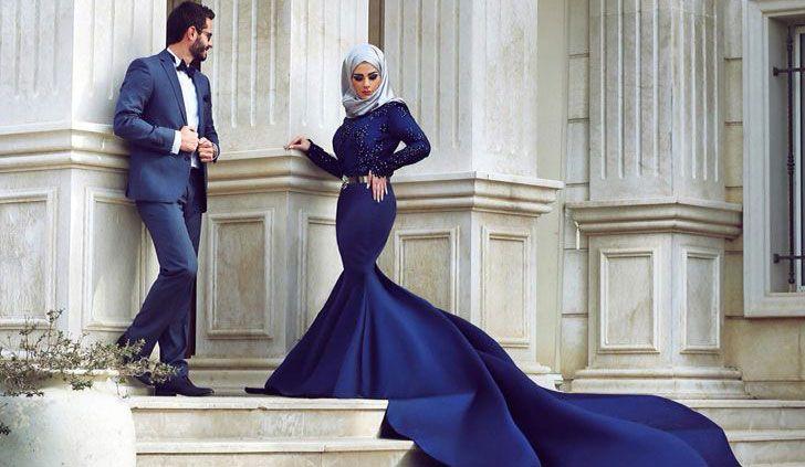 11 vestidos de novias musulmanas que te robarán el aliento - Moda - NUPCIAS Magazine