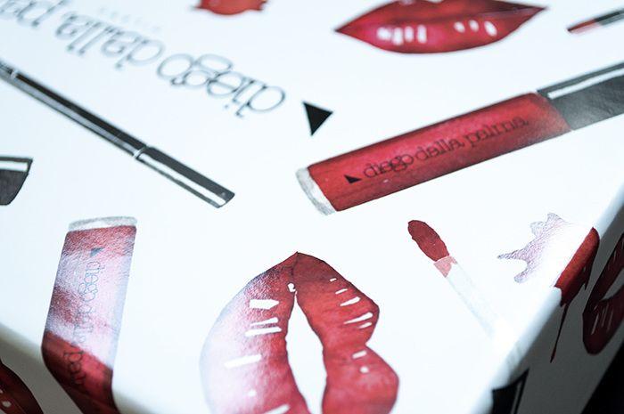 Make up Packaging illustration  - Giorgia Bressan Illustration