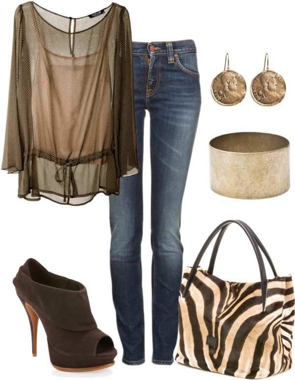 """""""~Bronze~"""" by mels777 ❤ liked on Polyvore"""