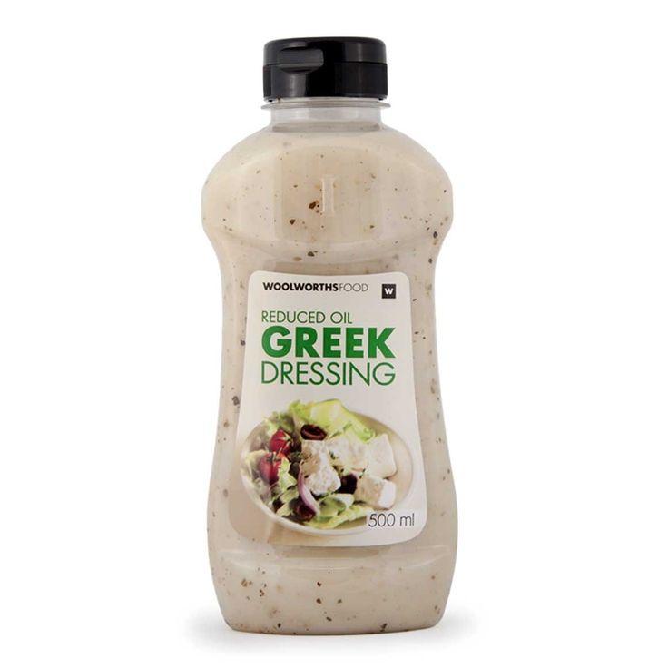 Reduced Oil Greek Dressing  500ml