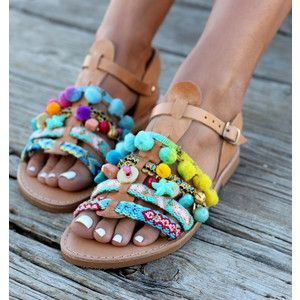 Gladiator Sandals Greek Leather Sandals Handmade Sandals Bora Bora'