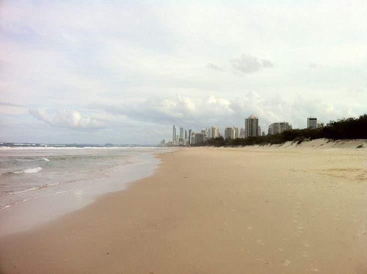 Surfer Paradise view from Main Beach.
