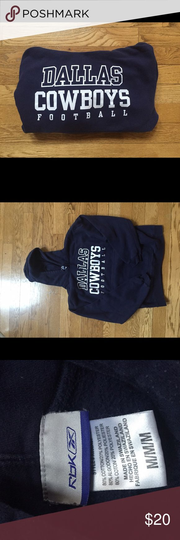 Dalas Cowboys Hoodie NFL Super soft and cozy. Would be a great gift for a fan. Size medium. NFL Tops Sweatshirts & Hoodies
