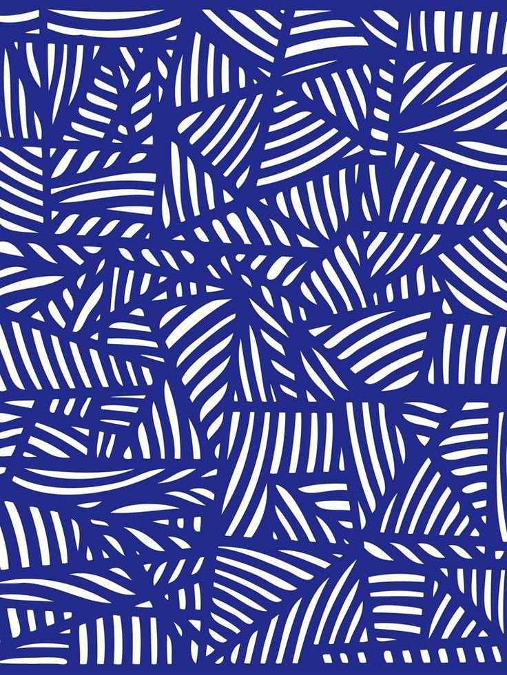 Blue slightly- geometric, slightly hodge-podge #pattern