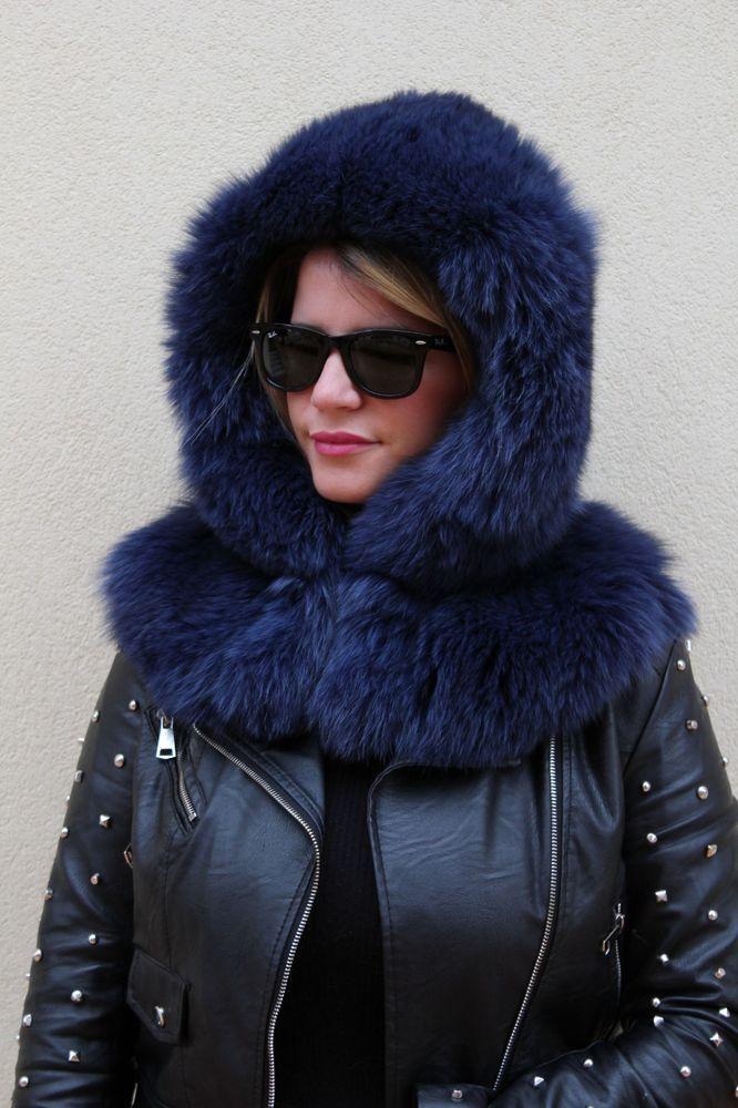 1f667bba572 fox fur hood hat pelzhaube fuchs hut cappello pelliccia volpe chapeau  renard  fashion  clothing  shoes  accessories  womensaccessories  hats  (ebay link)