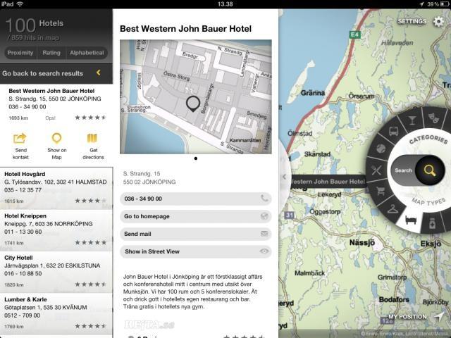 ENIRO for iPad