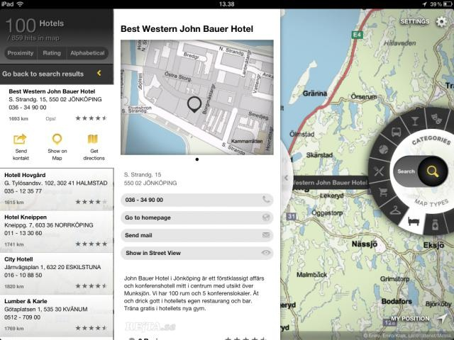 map concept for iPad