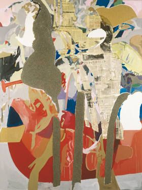 "Saatchi Art Artist luminita taranu; Painting, ""evo-cation XLVIII - ""The orchestra conductor"""" #art"