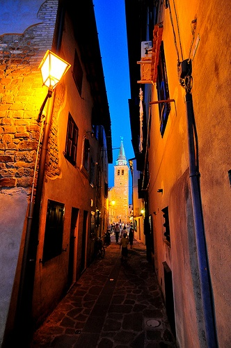 beautiful photo of old town, #Grado, italy (by Franz Jachim)
