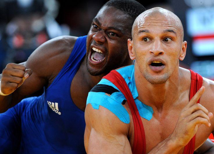 On a testé la lutte greco-romaine avec Mélonin Noumonvi - Rio 2016 - Jeux Olympiques  (3000×2156)