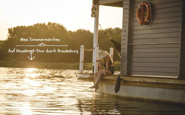 BunBo-Hausboot-Tour durch Brandenburg