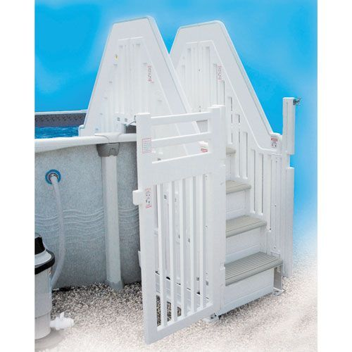Confer Above Ground Pool Double Entry System Pool Steps