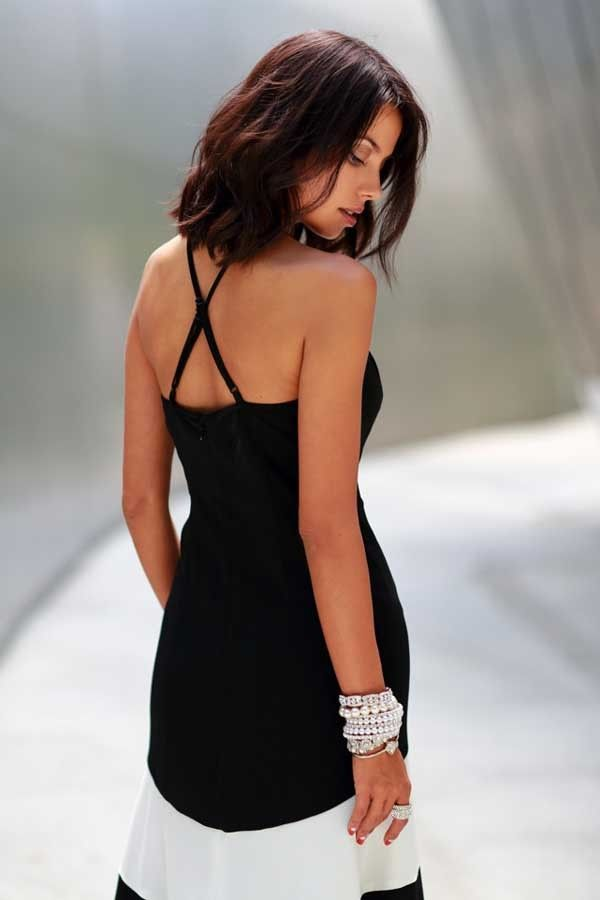 50d20faf90fd Black White Chiffon Stripe Sleeveless Maxi Casual Dress #016163 @ Casual  Dresses,Women Casual Dresses,Cheap Casual Dresses,Cute Casual Dresses,Casual  ...