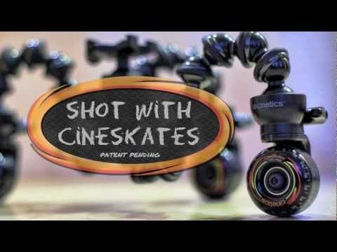 Roll it! - the MIT Media Lab gets the camera moving smoothly with CineSkates.