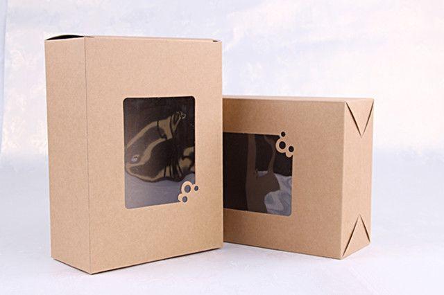 Aliexpress.com: Купить 15 * 20 * 7.5 см крафт бумажная коробка с окном выпечки торт ремесло подарочная упаковка коробка бесплатная доставка из Надежный окно матрас поставщиков на Hunky-Dory Store