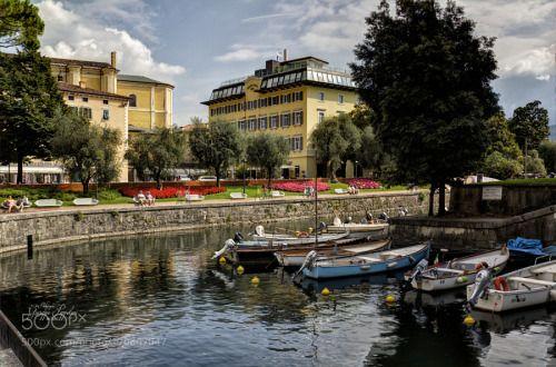 Riva del Garda (TN) by giuseppepeppoloni  landscape trento paesaggio lago di garda barche riva del garda Riva del Garda (TN) giuseppepeppoloni