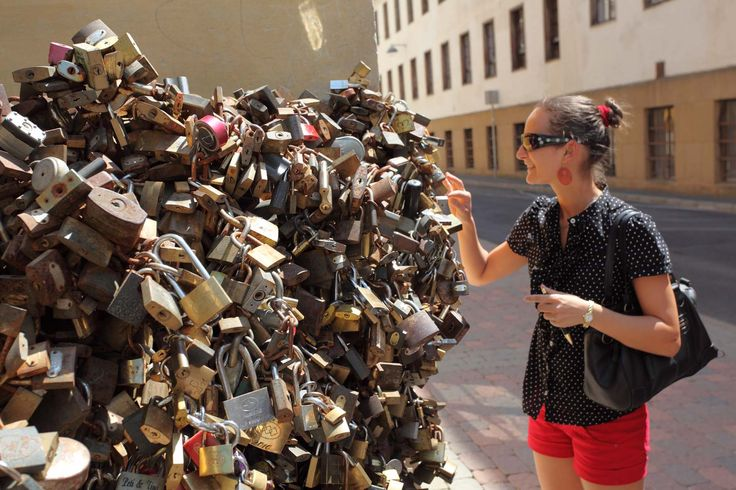 Pecs, Hungary • UPLOAD the your SELFIE picture and get 10% SALE on http://lovelockstore.com  #lovelockstore  #lovelockstory #lovelocks #lovelockbridge