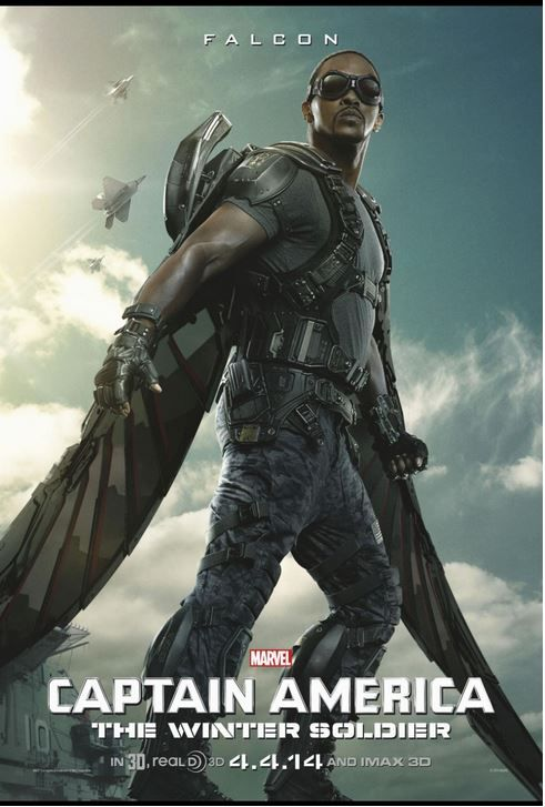 Interview with Anthony Mackie The Falcon CAPTAIN AMERICA ...
