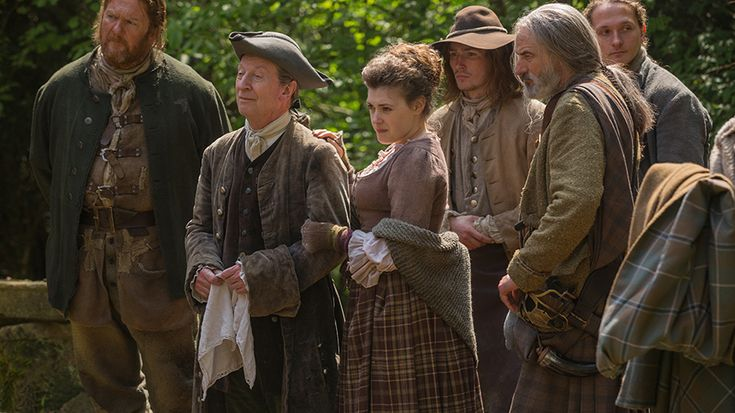 Episode 107 - The Wedding - Ned Gowan and clan members