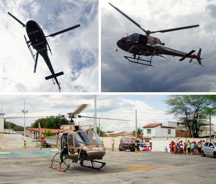 GRAER – Grupamento Aéreo da Polícia Militar da Bahia (Brasil).  http://www.brumadoagora.com.br/noticias/1629-2012/11/26/brumado-graer-fez-patrulhamento-aereo-neste-domingo