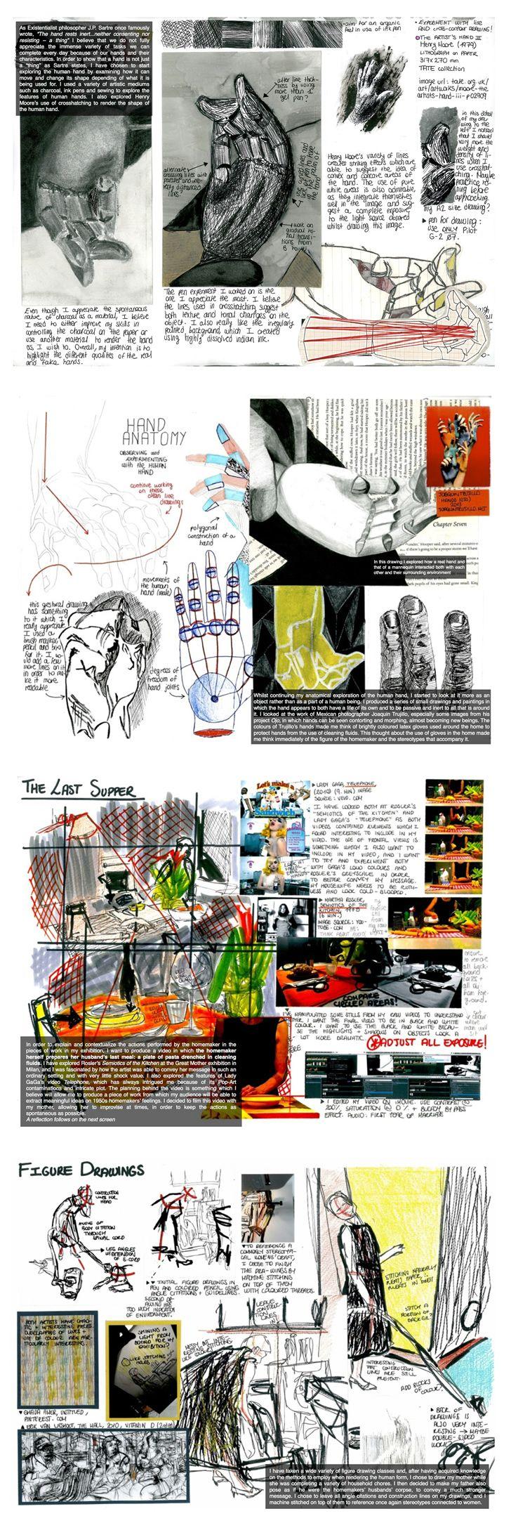 IB Art process portfolio