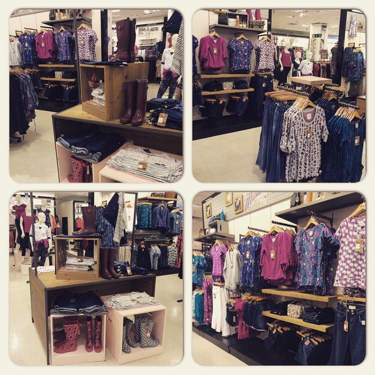 Mantaray womenswear visual merchandising