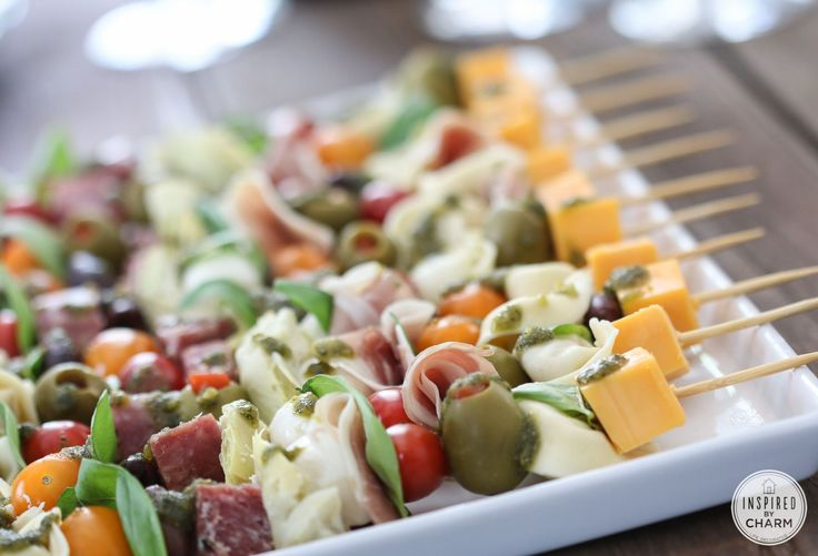 I've been wanting to make antipasto kabobs for the longest time. I'm talking years. Yesterday when I was at the grocery store trying to come up with an idea for today's post, I decided that even though I didn't have anyone to serve them to, I was finally going to make these fun kabobs. Now, …