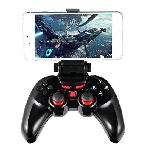 Oferta: 16.99€ Dto: -65%. Comprar Ofertas de Mando bluetooth LESHP Controlador inalámbrico Gamepad Joystick para video juegos - Android/PC barato. ¡Mira las ofertas!