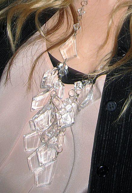DIY Prada-inspired chandelier necklace (via ...love Maegan): Prada Chandelier, Diy Chandelier