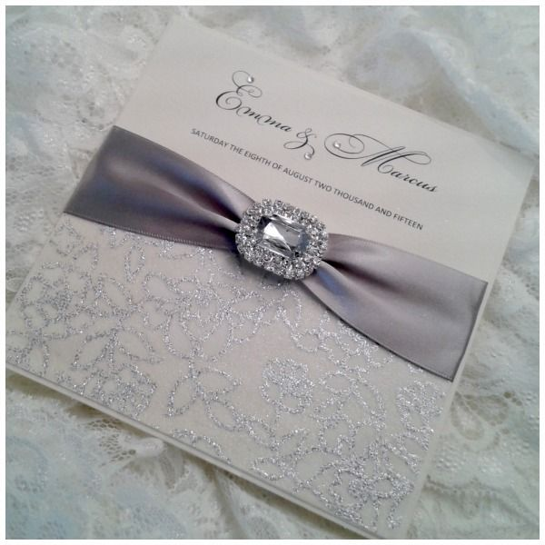 Elegant Wedding Invitations With Crystals: 1000+ Images About Wedding Invitations Extrordinare! On
