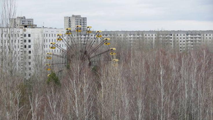 De spookstad van Tsjernobyl, 30 jaar later | NOS