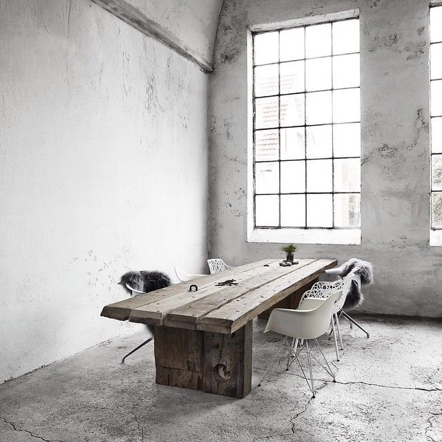 Table by Thors Design. Plank table, planke bord, conference table, møde bord, spise bord, dining table