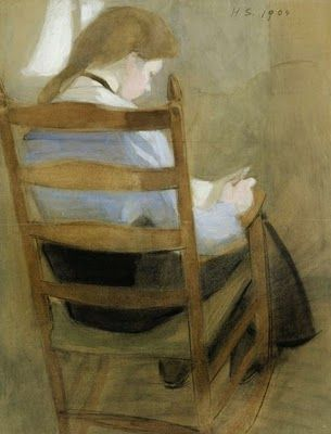 Helena Schjerfbeck | Girl Reading (via @Michelle Flynn Mooy... love these)