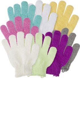 Der ebelin Massage- und Peelinghandschuh ist für alle Handgrößen geeignet und kann auf trockener oder feuchter Haut zur Reinigung und belebenden Massage...
