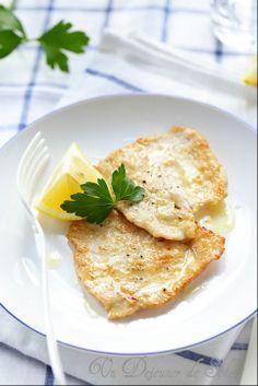 Escalope de veau au citron (piccata) comme en Italie