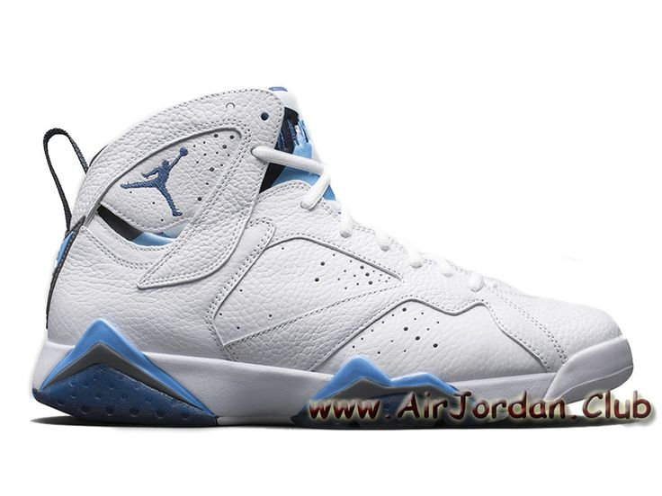 4f1440ac8b7a Air Jordan 7 Retro  French Blue  304775-107 Homme Nike Jordan Prix Blue