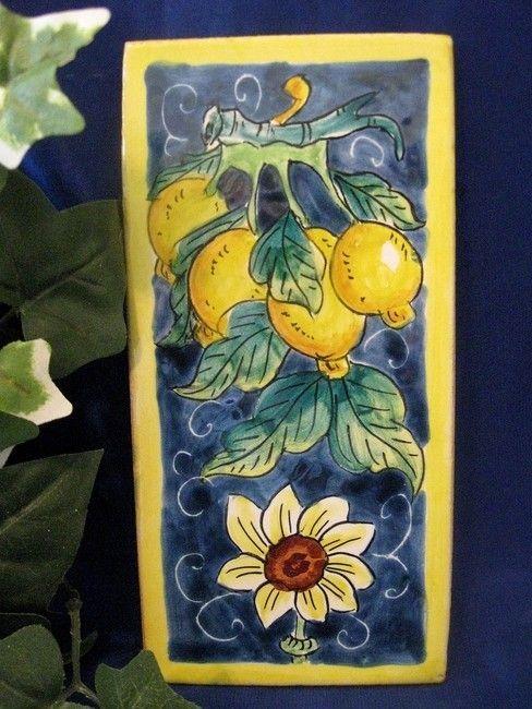 limone love! Deruta Pottery