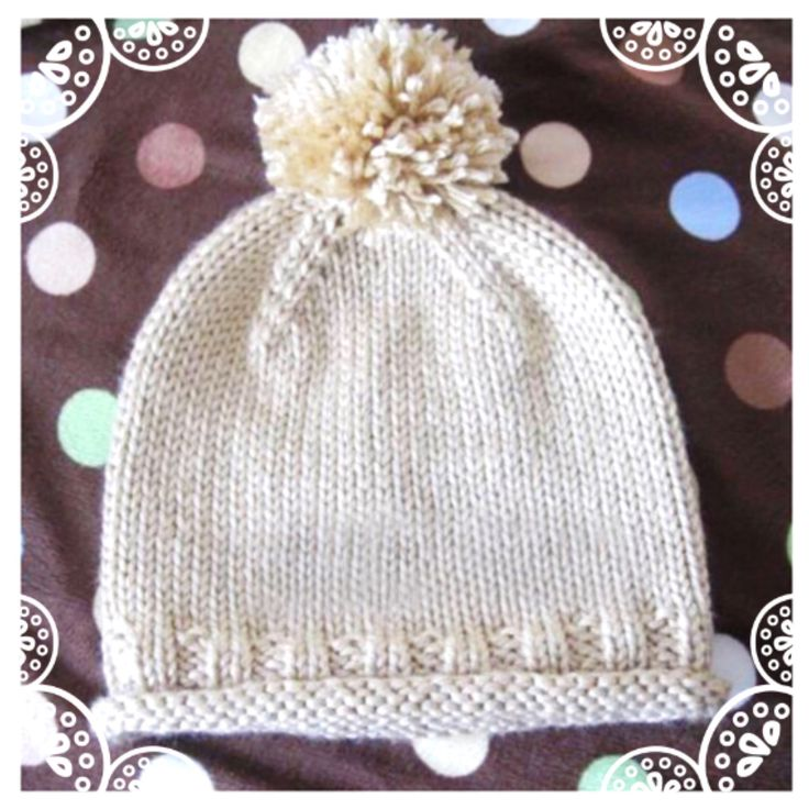 A personal favorite from my Etsy shop https://www.etsy.com/listing/542746431/cream-solid-gender-neutral-hat-hand-knit