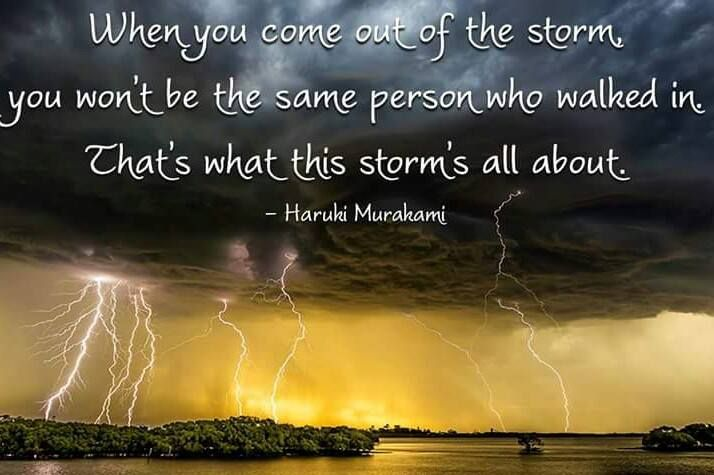 Image result for when you come out of the storm