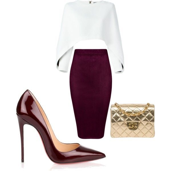A fashion look from February 2017 featuring Balmain sweaters, Christian Louboutin pumps and Chanel handbags. Browse and shop related looks.