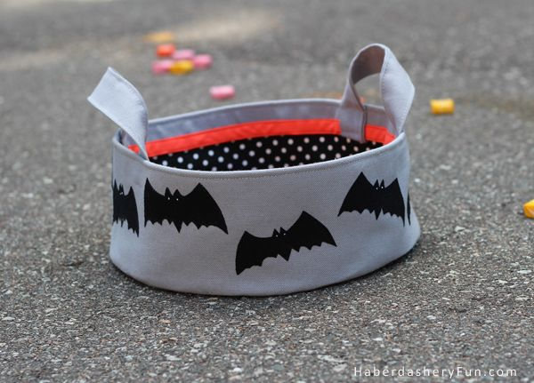 DIY.. Halloween Candy Bowl. Spooky!!  Tutorial over at the HaberdasheryFun.com blog