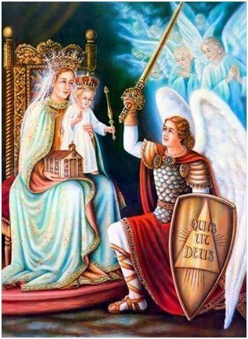 Coronilla en Honor del Ángel de la Guarda muy Milagrosa